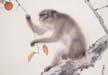 橋本関雪「猿」下