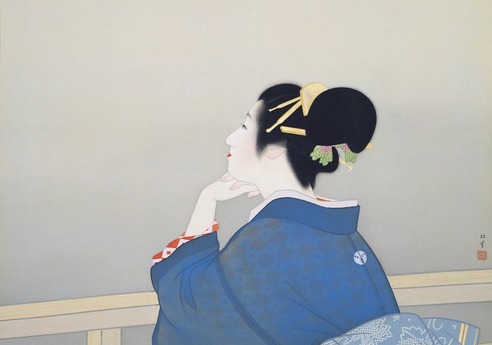 上村松園「待月」スライド3