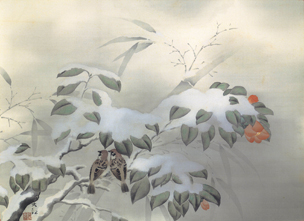 横山大観「冬之夕」小展示
