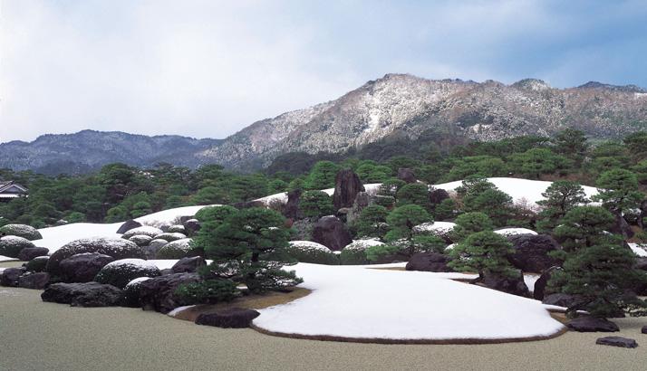 枯山水庭(冬)714410